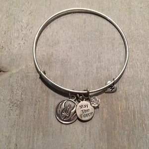 """.925 """"May the force be with you"""" bangle"""